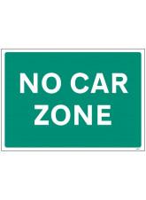 No Car Zone
