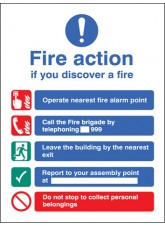 Fire Action Manual Dial without Lift