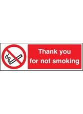 Please Do Not Smoke- Thank You