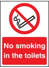 No Smoking in the Toilets