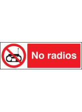 No Radios