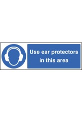Use Ear Protectors in this Area