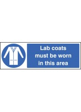 Lab Coats Must be Worn in this Area