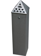 Floor Standing Cigarette Bin (800mm Height)x(200 x 200mm Base)