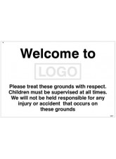 Welcome to (Logo) Please Treat these Grounds with Respect
