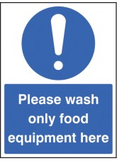 Wash Only Food Equipment