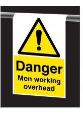 Roll Top - Danger - Men Working Overhead