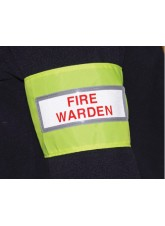 Fire Warden Reflective Armband