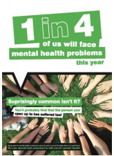 Mental Health Poster - Surprisingly Common isn't It?