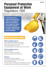 Personal Protective Equipment Regulations 1992 Poster