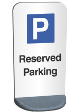 Eco Friendly Temporary Sign - Reserved Parking