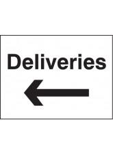 Deliveries Arrow Left